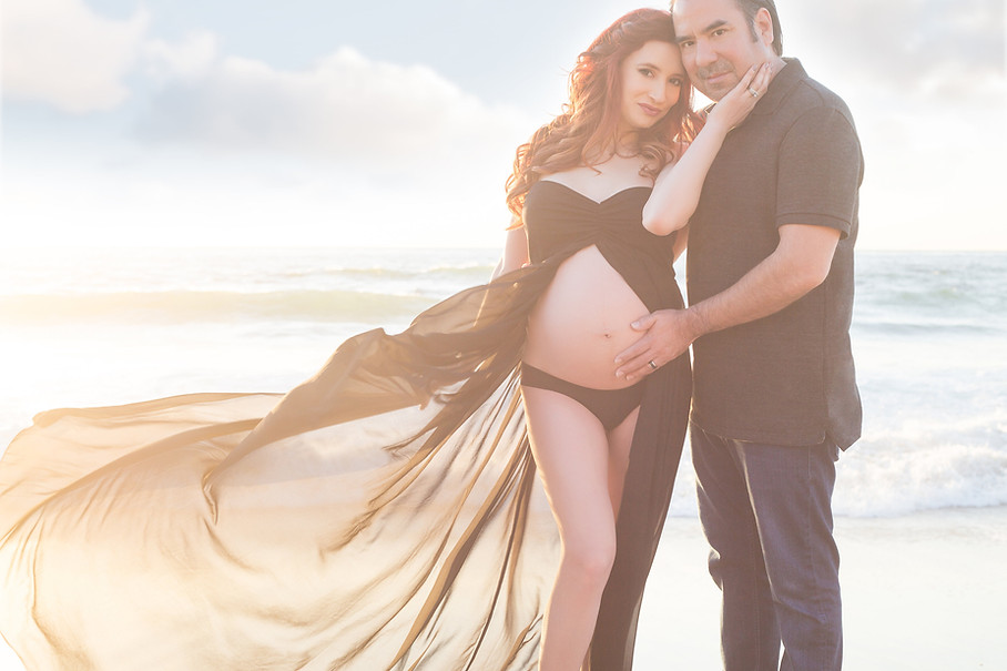 Adame Maternity Photography Shoot in San Diego