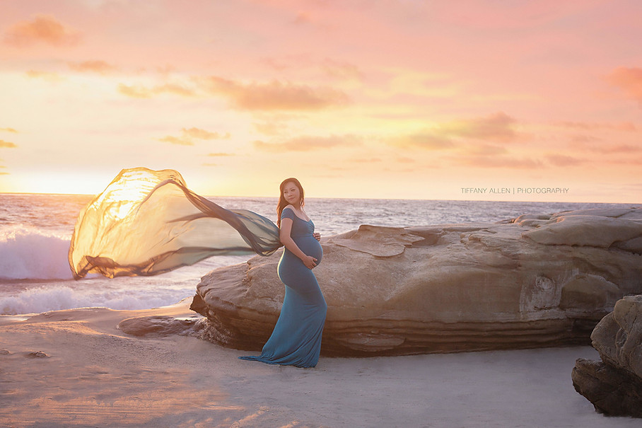 Ariel Maternity Photography San Diego