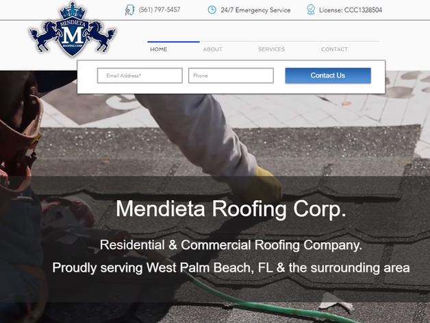 Mendieta Roofing