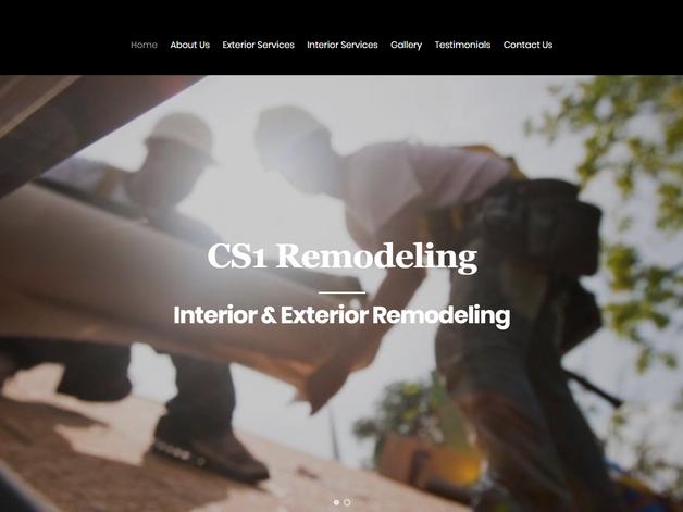 General Contractor Web Design