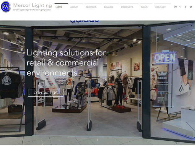 Lighting Company Web Design