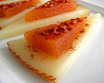 Quince Fruit for Cheese with Manchego