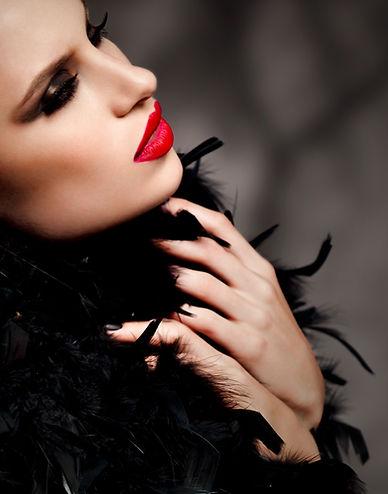Monifa Mortis Makeup