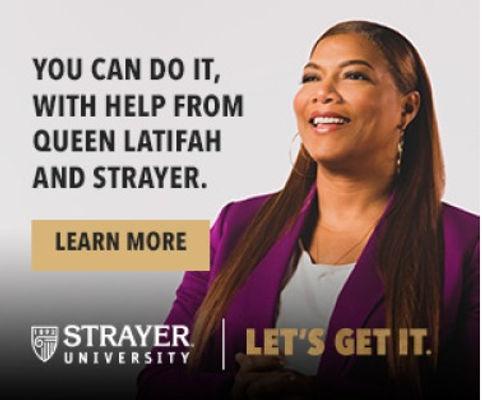 Queen Latifah Strayer University