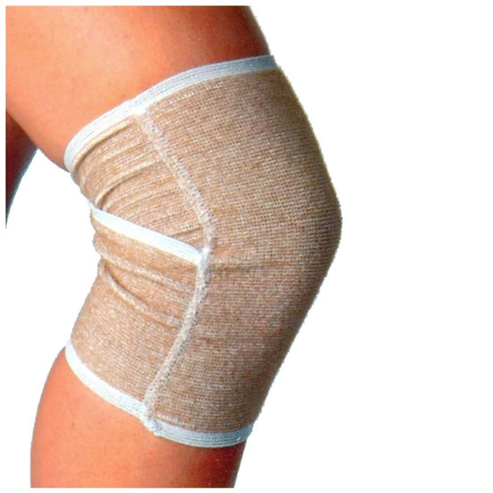 Бандаж на коленный сустав (наколенник) комбинированный