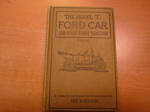 Ford Car & Traktor Handbuch v. 1919 auf englisch