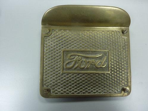 Trittplatte Messing Ford Model T, 1909-15