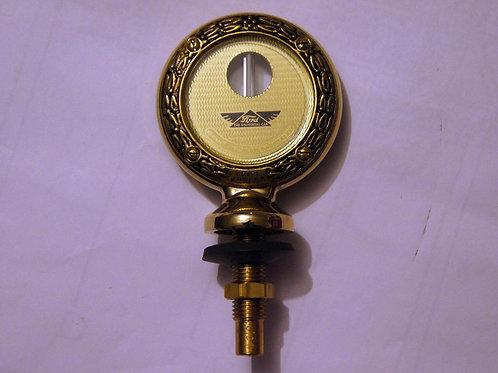 Kühlerthermometer Messing, Ford Model T, 1909-27, 05/03
