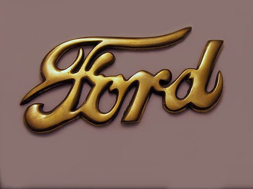 FORD-Emblem Messing 1903-27 05/04