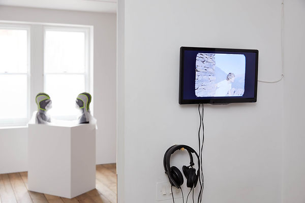 Working Progress, installation view at t