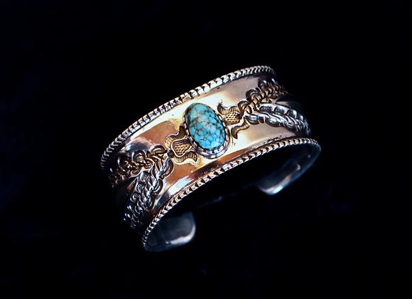 Lone Mountain Turquoise Bracelet