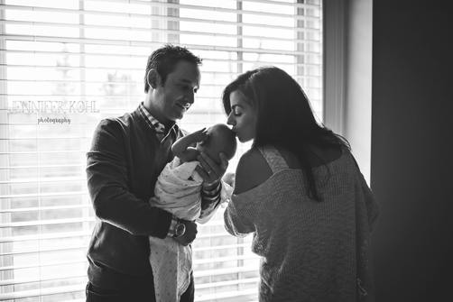 Birmingham MI Lifetysle Newborn Photogra