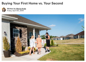 Buying Your First Home vs. Your Second