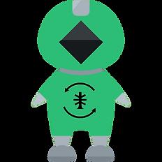 Regenize recycling mascot
