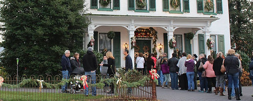 Marietta Candlelight Tour is a Christmas tour of Marietta homes on the first Sunday of December