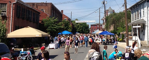 Marietta Day is a mile-long street festival on the second Saturday of May