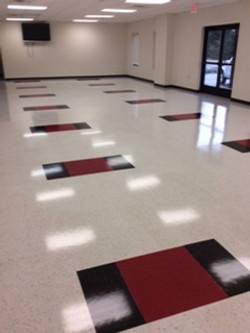 Local Fire Department Floor Cleaning