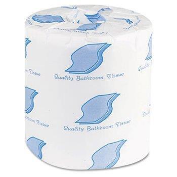 96 Roll White Bath Tissue 2 ply