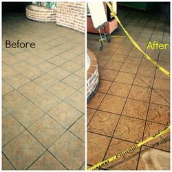 Local Restaurant Floor Cleaning