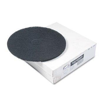 """20"""" Black Floor Pad 5/case"""