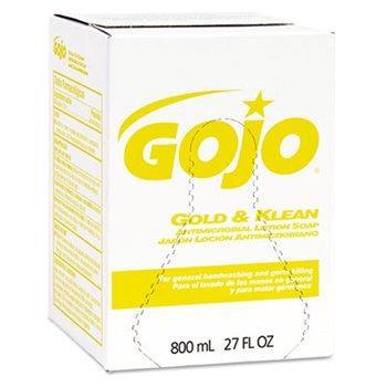 Gold N Klean Antimic Lotion Soap 800 ml box