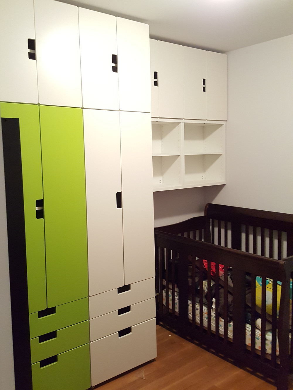 NYC Ikea Assembly - storage and baby rooms