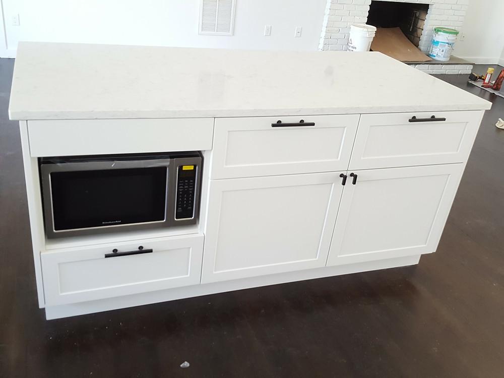 IKEA Delivery NYC - Kitchen Design island