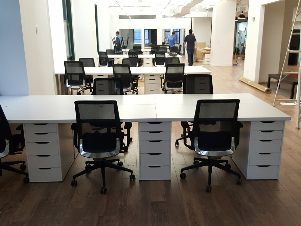 IKEA Delivery NYC - Office Furniture assembly