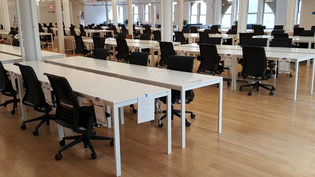 Ikea office installation