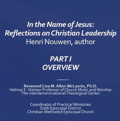 In the Name of Jesus: Part I