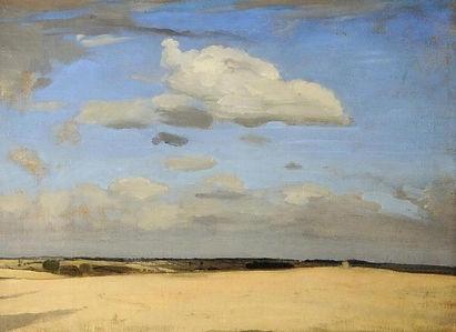 William Nicholson, Fording bridge _ Land
