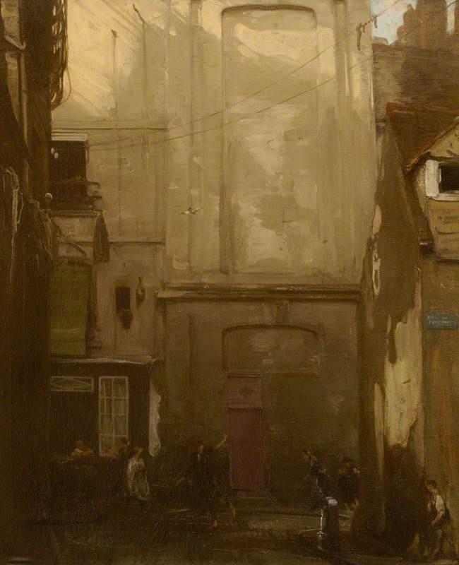 La Place du Petit Enfer Dieppe, 1908