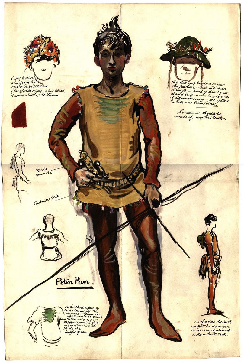 Peter Pan, 1904