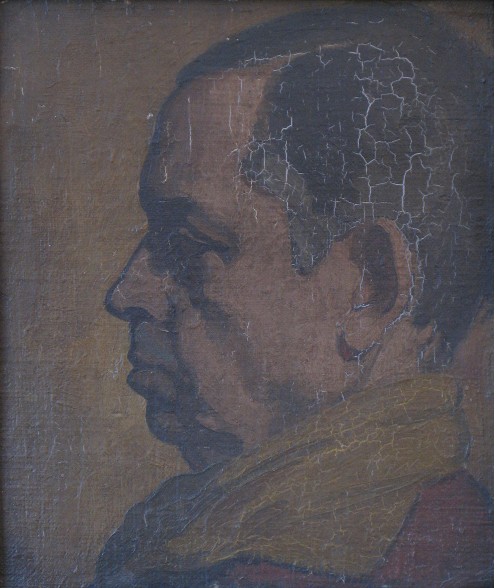 Portrait of William Nicholson, Elizabeth Drury (Edith Nicholson) 1919
