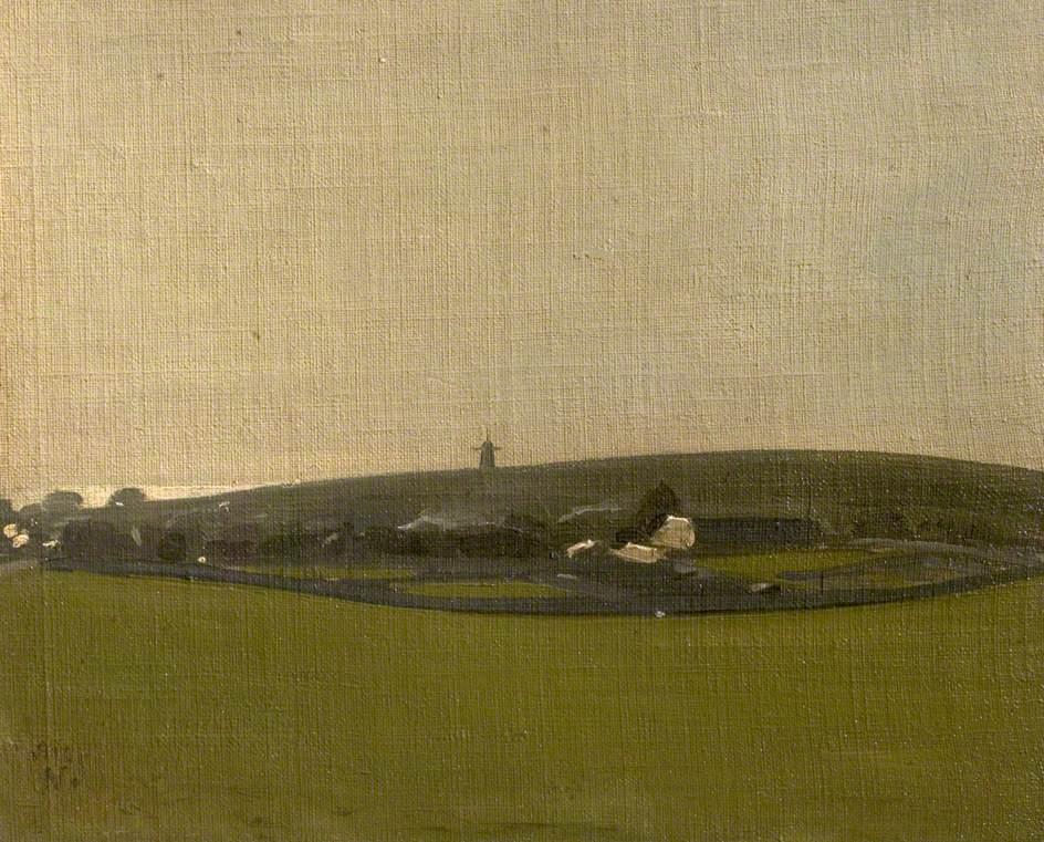 The Windmill, Brighton Downs, 1910