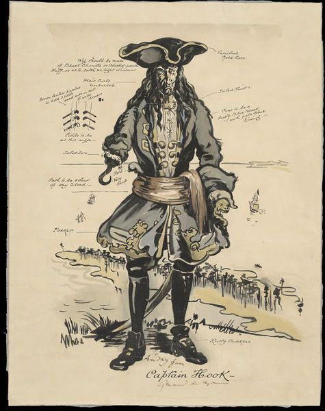 Captain Hook, 1904