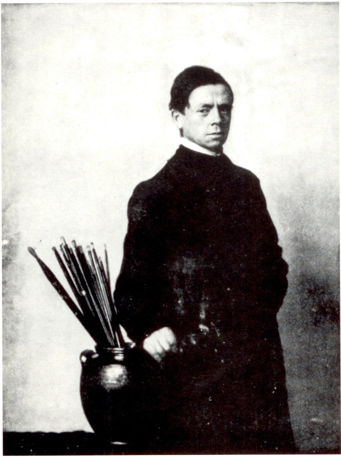 Portrait of William Nicholson, Malcolm Arbuthnot, 1912