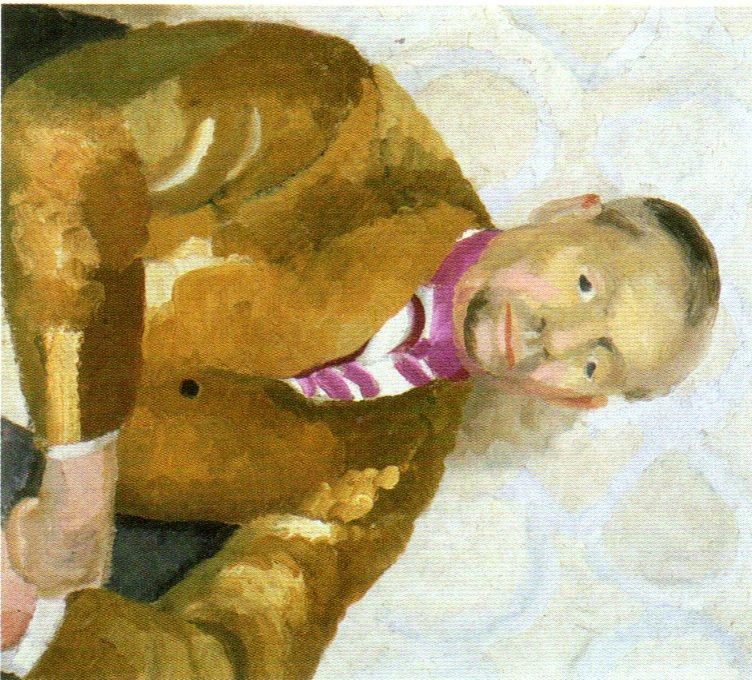 Portrait of William Nicholson, Winifred Nicholson 1926