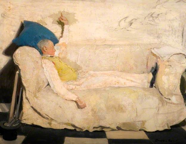 Portrait of William Nicholson, Diana Low, 1920-36