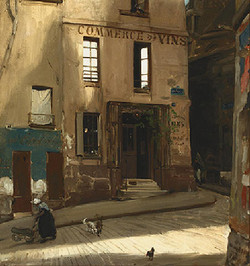 Le Debit de la Rue Montaigne, 1911
