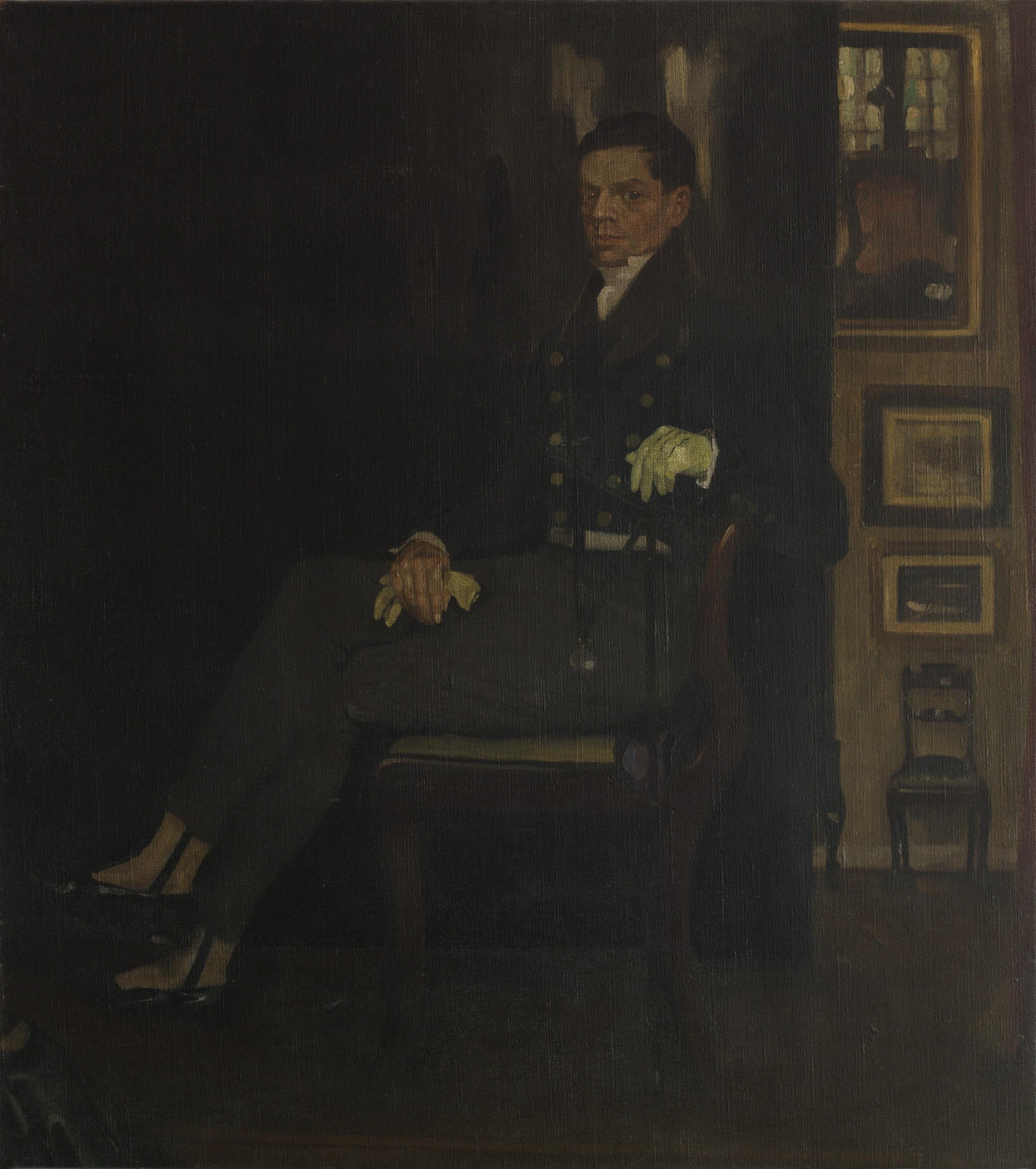 Portrait of William Nicholson, Mabel Pryde, 1903