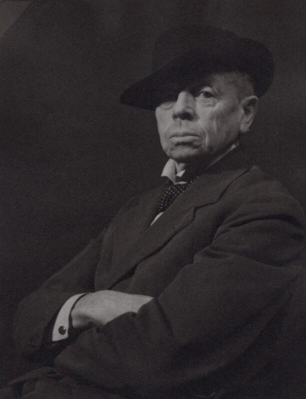 Portrait of William Nicholson, Augustus Charles Cooper, 1943