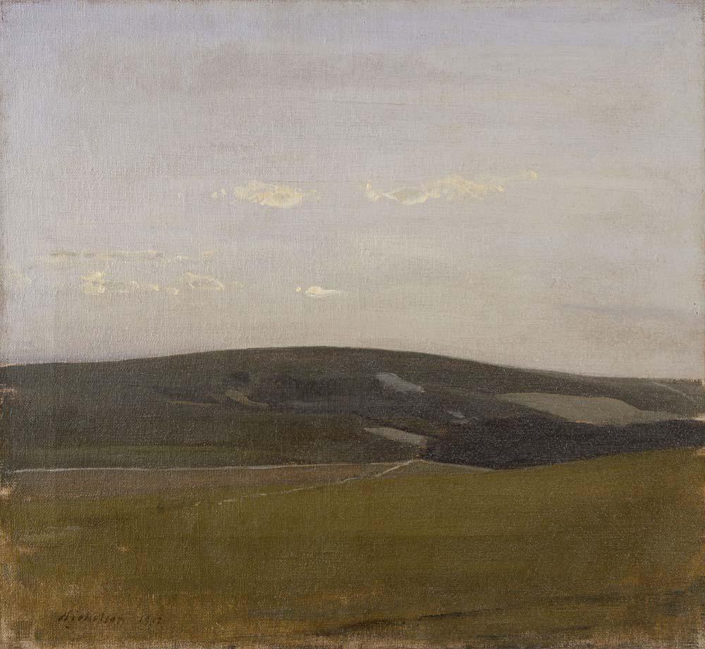 Downland Landscape, 1912