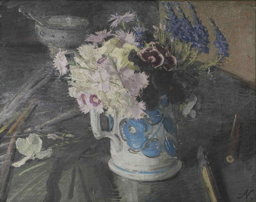 Mixed Flowers in a Mug, 1929