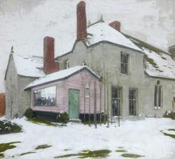 Sutton Veny in Snow, 1924