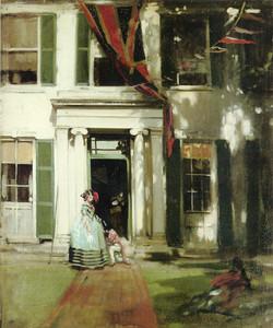 Coronation Day at Rottingdean, 1912