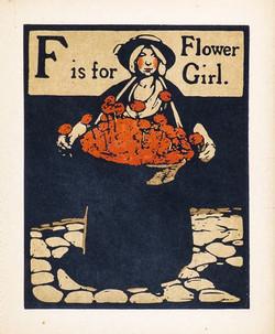 F is for Flower Girl