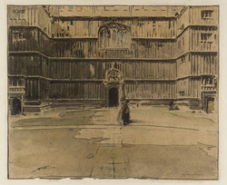 Entrance to the Bodleian Library