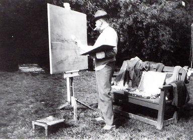 Sir William Nicholson, Artist Portrait Photograph