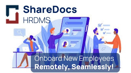 6 Benefits of Onboarding Employees Remotely During the Covid-19 Pandemic with ShareDocs HRDMS